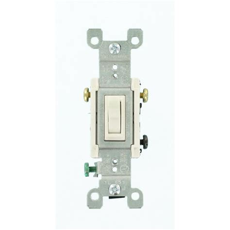 Leviton Amp Way Toggle Switch White