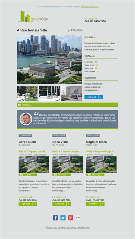 email newsletter templates real estate 11 free and professional newsletter templates for real estate