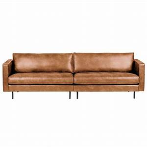 Sofa Und Co : 3 sitzer sofa rodeo classic echtleder leder lounge couch ledersofa cognac neu style industrial ~ Orissabook.com Haus und Dekorationen