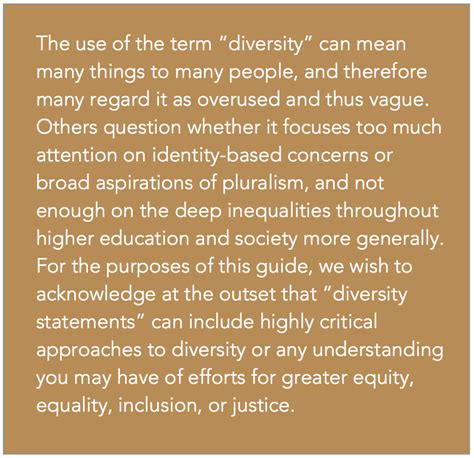 Briefly Describe Your Interest In This Position by Personal Statement About Contributions To Diversity Sle