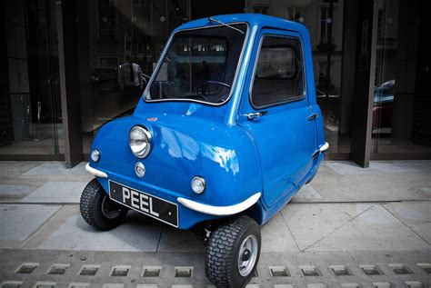 Peel P50 The World S Smallest Car Is Back Digital Trends