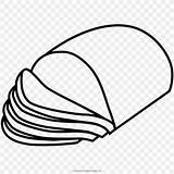 Ham Coloring Jamon Colorear Drawing Dibujo Pig Clip Colouring Imagenes Domestic Tortas Hanklee Sketch Template sketch template