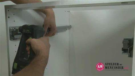 monter un tiroir coulissant comment monter un tiroir coulissant de cuisine atelierdumenuisier