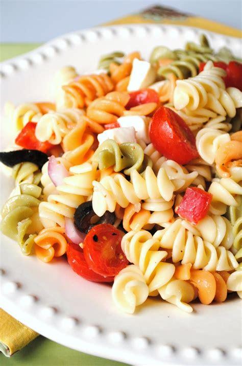 summer pasta salad recipe recipe of the week summer pasta salad fundcraft