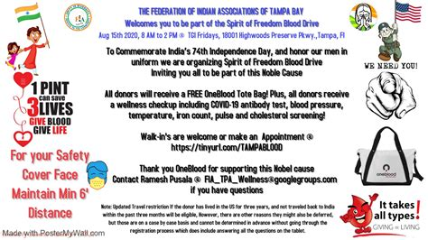 FIA of Tampa Bay - Indian Association