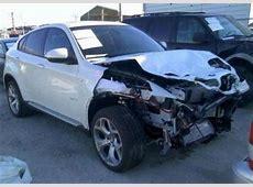 Export Salvage 2013 BMW X6 XDRIVE35I WHITE ON BLACK