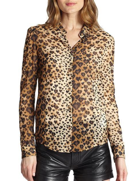 leopard print blouses silk leopard print blouse sleeveless blouse