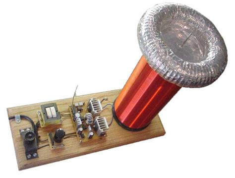 Medium Solid State Tesla Coil