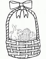 Easter Basket Coloring Pages Printable Baskets Empty Template Colouring Apple Templates Bunny Fruit Sheet Printables Easterbasket Egg Sheets Dauber Bingo sketch template