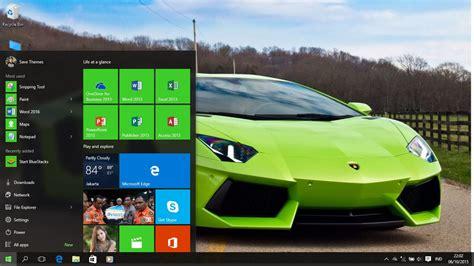 Car Wallpaper Slideshow Windows 7 by Lamborghini Aventador Theme For Windows 7 8 And 10 Save
