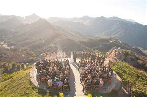 Hilltop Vineyard Wedding At Malibu Rocky Oaks Kristin