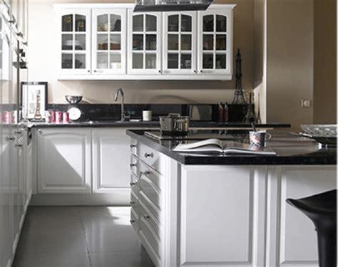 cuisine equipee lumia de castorama style retro coloris blanc