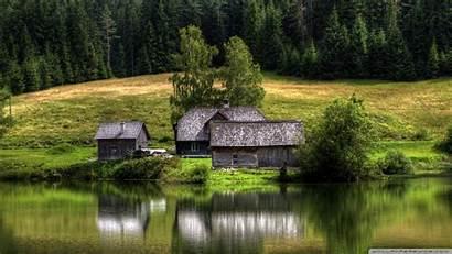 Lake Forest Nature Wallpapers Landscapes Desktop 4k