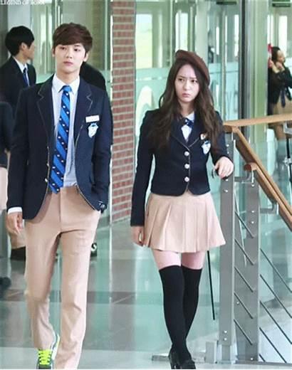 Uniform Korean Drama Uniforms Krystal Korea Students