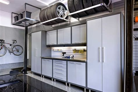 Workshop Storage Cupboards by A One Car Garage That S Fit For Two