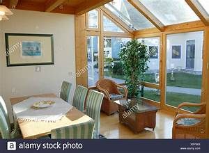 Einfamilienhaus Wintergarten Leben Platz Esstisch Haus