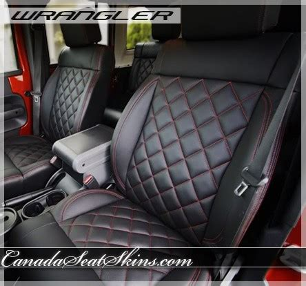 jeep wrangler quilted leather upholstery
