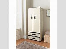Deluxe Double Canvas Wardrobe Bedroom Furniture, Furniture