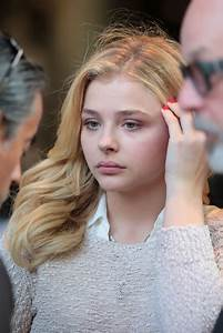 Chloe Moretz - Set of 'Brain on Fire' in Vancouver, July 2015