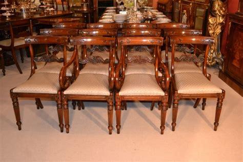 mahogany dining sets set 12 regency style mahogany dining chairs bar back ref 3951