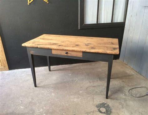 bureau jean prouvé table bistrot ancienne des ées 20 30 bois et métal