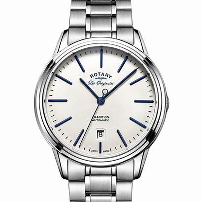 Rotary Watches Swiss Automatic Tradition Steel Luxury