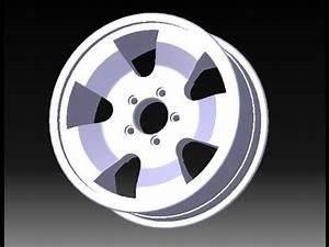 Alloy Wheel Design Software Alloy Wheel Design In Catia Tutorial Youtube
