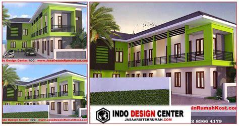 gambar desain rumah kost  lantai griya rumah