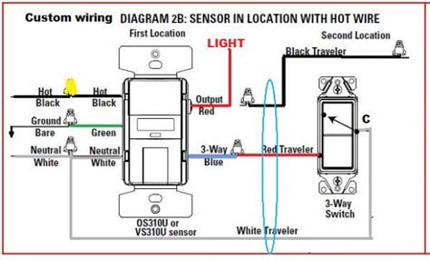 replacing  switch  motion sensor doityourself