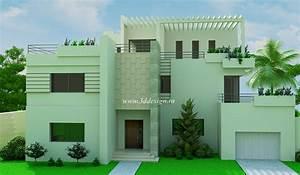 Façade Maison Moderne : decoration exterieur facade maison tunisie ~ Melissatoandfro.com Idées de Décoration