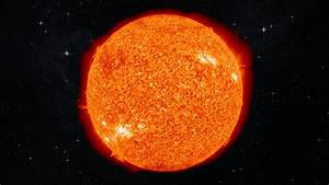 Nature space universe outer stars sun fire flames color ...