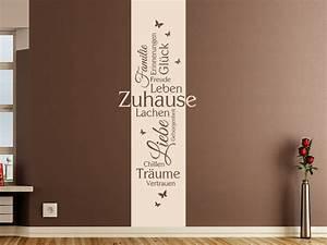 Zuhause Im Glück Jugendzimmer : wandtattoo zuhause banner mit schmetterlingen wandtattoo de ~ Markanthonyermac.com Haus und Dekorationen