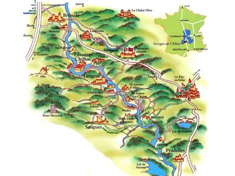 info carte du haut allier