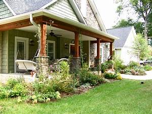 pictures of front porches on ranch style homes With ranch home designs with porches