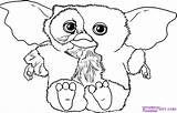 Gremlins Coloring Gizmo Pages Drawing Draw Dragoart Step Mogwai Dessin Sheets Les Printable Svg Silhouette Drawings Coloriage Cartoon Ausmalbilder Cartoons sketch template