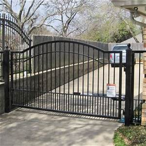 costco 1239 mighty mule cascade driveway gate home With costco dog fence