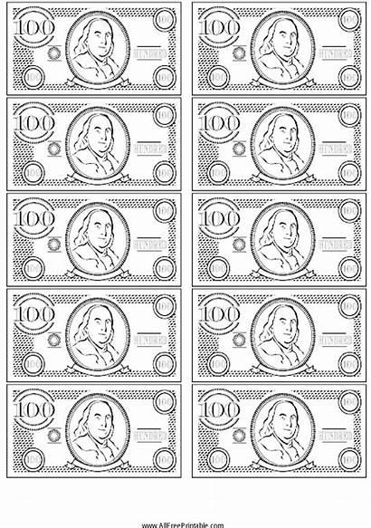 Printable Money Play Fake Bill Printables Pngkey