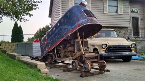 Ride On Backyard Trains by Bangshift Craigslist Find Be Your Own Conductor With