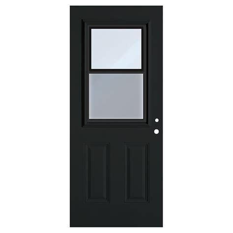 30 x 80 exterior door with window hung window exterior steel door black 34 quot x 80