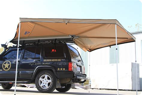 longroad side awning  foxwing awning longroad campers colimited
