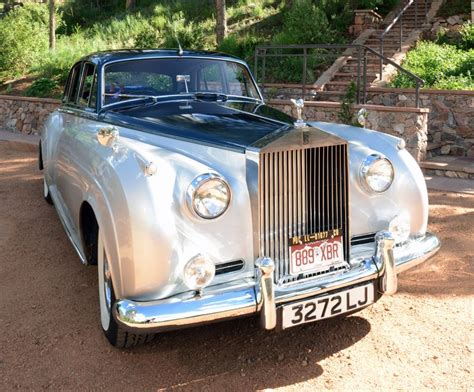 Classic Car Limo Service by Silver Elegance Classic Rolls Royce Limo Service In Denver