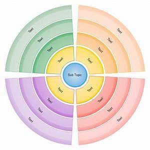circular diagram examples and templates With circular calendar template