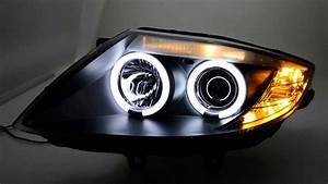 Bmw Z4 E85 Scheinwerfer : sw ccfl angel eye headlights bmw z4 e85 e86 black sw ~ Jslefanu.com Haus und Dekorationen