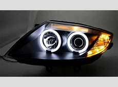 SWCCFL Angel Eye Headlights BMW Z4 E85E86 black SW