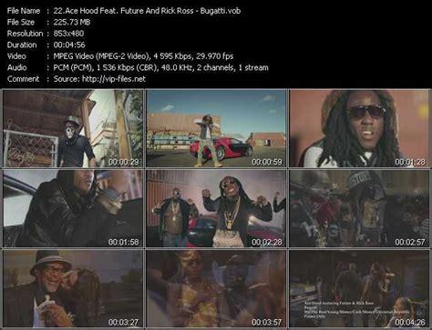Ace hood bugatti (remix) (featuring wiz khalifa, t.i., meek mill, french montana, 2 chainz, future, dj khaled. Ace Hood Feat. Future And Rick Ross - Bugatti - Download High-Quality Video(VOB)