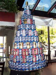 beer can christmas tree male pattern madness