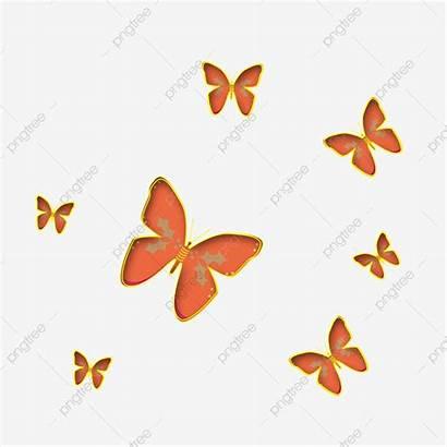 Butterfly Orange Clipart Borboleta Laranja Psd Spots