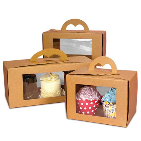window pastry carry boxes