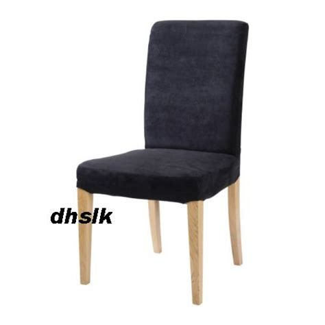 ikea henriksdal chair slipcover 20 quot cover kungsvik black