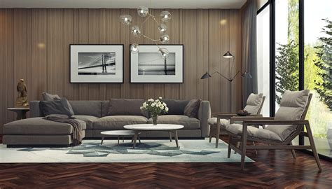 adorable living room designs  wooden  chic features
